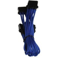 BitFenix Alchemy Molex to 3 x Molex Extension Adaptor 55cm Blue