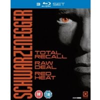Schwarzenegger Collection Total Recall / Red Heat / Raw Deal Blu-ray