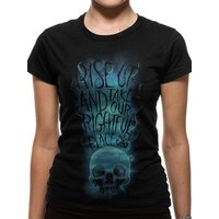 Crimes Of Grindelwald - Rise Up Women's XX-Large T-Shirt - Black