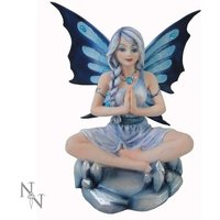 Opal Lotus Fairy Figurine