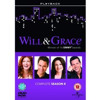 Will And Grace: Series 8 Box Set DVD