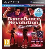 Dance Dance Revolution New Moves Game (Move Compatible) Includes Dance Mat