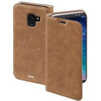 Hama Guard Case Booklet for Samsung Galaxy A6 (2018), brown