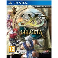 Ys Memories of Celceta Game PS Vita