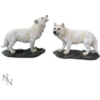 The Watchers Wolves Figurine