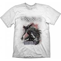 BLOODBORNE Boss Fight T-Shirt, Medium, White