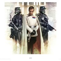 Star Wars Rogue One - Krennic and Death Troopers Art Print