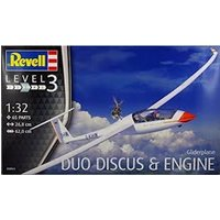 Gliderplane Duo Discus & Engine 1:32 Revell Model Kit