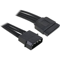 BitFenix Alchemy Molex to SATA Adapter 45 cm sleeved black/black