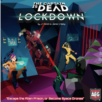 The Captain is Dead: Lockdown Expansion Board Game