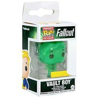 Vault Boy Glow in the Dark Green (Fallout) Funko Pocket Pop! Vinyl Figure Keyring