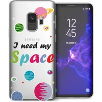 CASEFLEX SAMSUNG GALAXY S9 I NEED MY SPACE CLEAR CASE / COVER (3D)