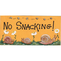 No Snacking Pack Of 12