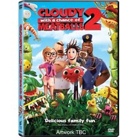 Cloudy With A Chance of Meatballs 2 DVD & UV Copy