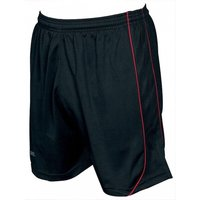 Precision Mestalla Shorts 26-28 inch Black/Red