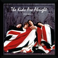 The Who The Kids Are Alright 12 x 12 Framed Album Cover