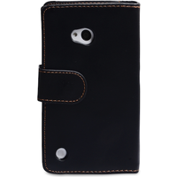 YouSave Accessories Nokia Lumia 720 Leather-Effect Wallet Case - Black