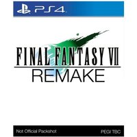 Final Fantasy VII Remake PS4 Game