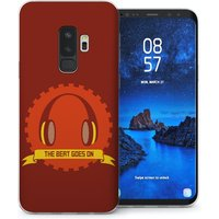 CASEFLEX SAMSUNG GALAXY S9 PLUS THE BEAT GOES ON - RED CASE / COVER (3D)