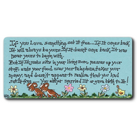 If You Love Something Set It Free Smiley Magnet Pack Of 12