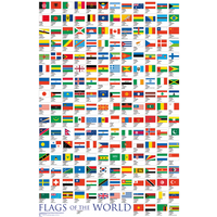 Flags Of the World 2017 Maxi Poster