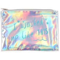 I Washed Up Like This Make up Pouch