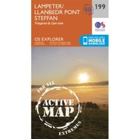 Lampeter, Tregaron and Llan-Non by Ordnance Survey (Sheet map, folded, 2015)