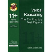 11+ Verbal Reasoning Practice Test Papers: Standard Answers (for GL & Other Test Providers) by CGP Books (Paperback,...