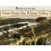Visit from the Rhine Valley Viticulture Expansion Board Game