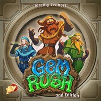 Gem Rush (2nd Edition) Board Game