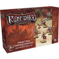 Runewars The Miniatures Game Uthuk Y'llan Infantry Command Expansion