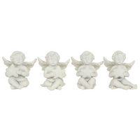 Sitting Cherub with a Star Pack Of 12