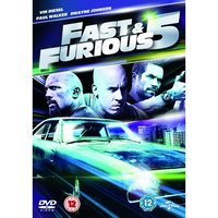Fast Five DVD UV