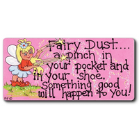 Fairy Dust...A Pinch In Your Pocket Smiley Magnet Pack Of 12