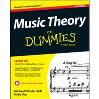 Music Theory for Dummies, 3rd Edition by Michael Pilhofer, Holly Day (Paperback, 2015)