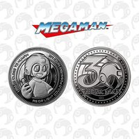 Megaman 30th Anniversary Limited Edition Collectors Coin (Silver)