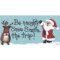 Be Naughty, Save Santa The Trip Pack Of 12