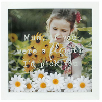 Mum, If You Were A Flower I'd Pick You Box Frame