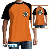 Dragon Ball - Kame Symbol Men's Medium T-Shirt - Orange