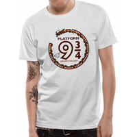 Harry Potter - Cute Platform 9 And 3 Quarters Men's Small T-Shirt - White