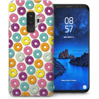 CASEFLEX SAMSUNG GALAXY S9 PLUS DONUT PATTERN CASE / COVER (3D)
