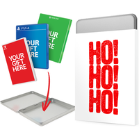 Christmas Gift Tin - Ho! Ho! Ho! Design