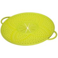 Xavax Boil Over Safeguard, made of silicone, round, 31 cm, green