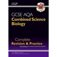 New Grade 9-1 GCSE Combined Science: Biology AQA Complete Revision & Practice with Online Edition by CGP Books...
