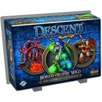 Descent 2nd Edition Hero and Monster Collection Bonds of the Wild Board Game