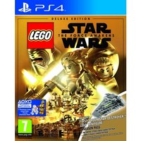 Lego Star Wars The Force Awakens Deluxe Edition PS4 Game (Star Destroyer Mini Figure)