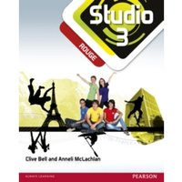 Studio 3 rouge Pupil Book (11-14 French) by Clive Bell, Anneli McLachlan (Paperback, 2012)