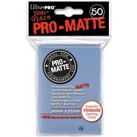 Ultra Pro Matte Clear 12 Packs of 50 Sleeves