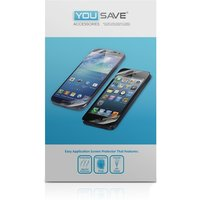 YouSave Accessories Microsoft Lumia 435 Screen Protector X3 - Clear