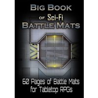 Big Book of Sci Fi Battle Mats Board Game